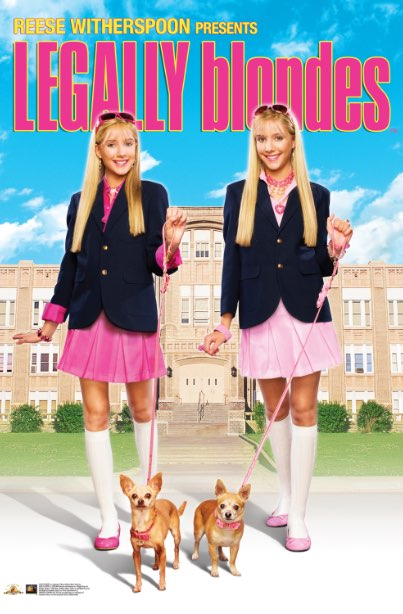Legally Blondes Poster